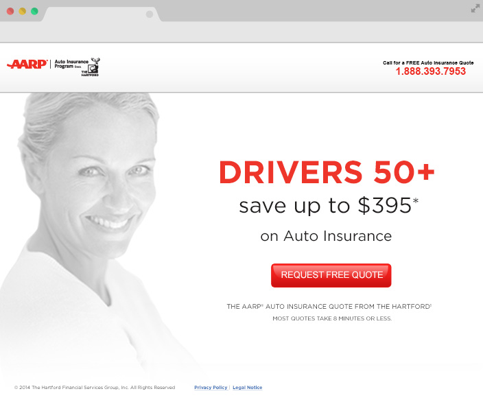 AARP The Hartford Landing Page
